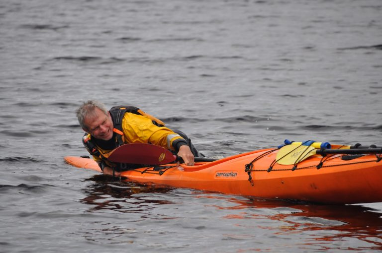 Safety Training - Kayak Majik - learn to self-rescue
